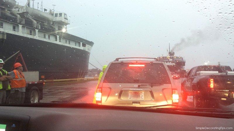 SimpeDecoratingTips.com Taking the SS Badger across Lake Michigan