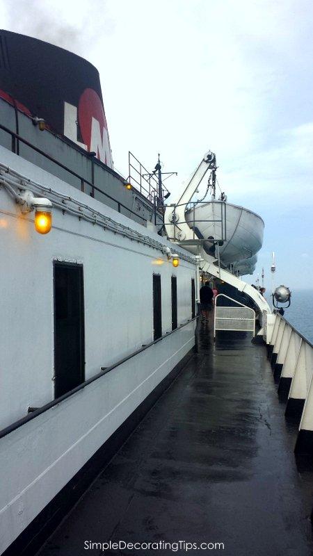 SimpleDecoratingTips.com Taking the SS Badger across Lake Michigan