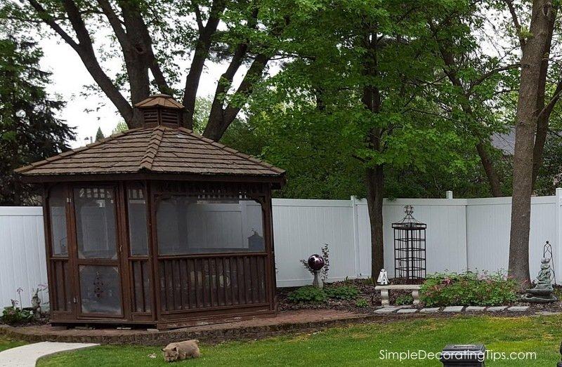 SimpleDecoratingTips.com Moving a Gazebo onto the Property