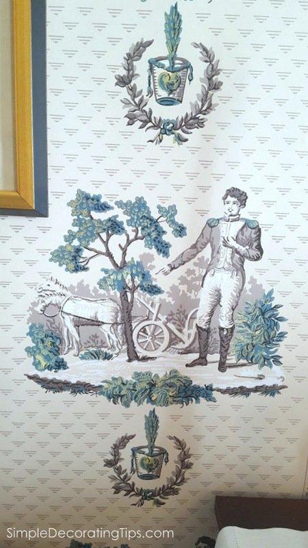 SimpleDecoratingTips.com The Columns Historical Wallpaper