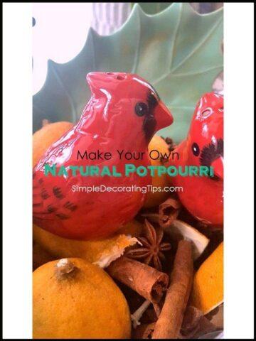 SimpleDecoratingTips.com Natural Potpourri