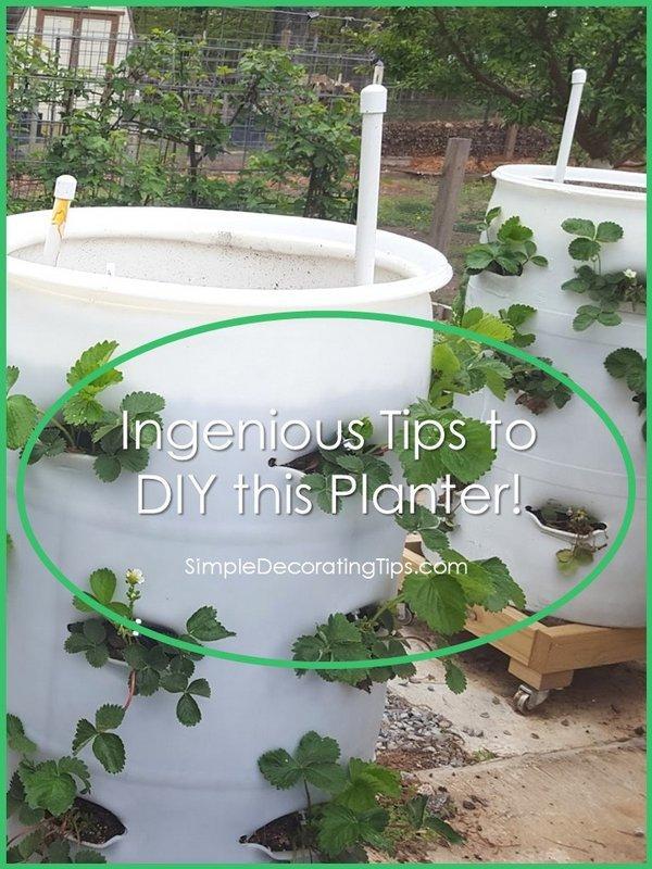 Ingenious Tips to DIY this Planter SimpleDecoratingTips.com