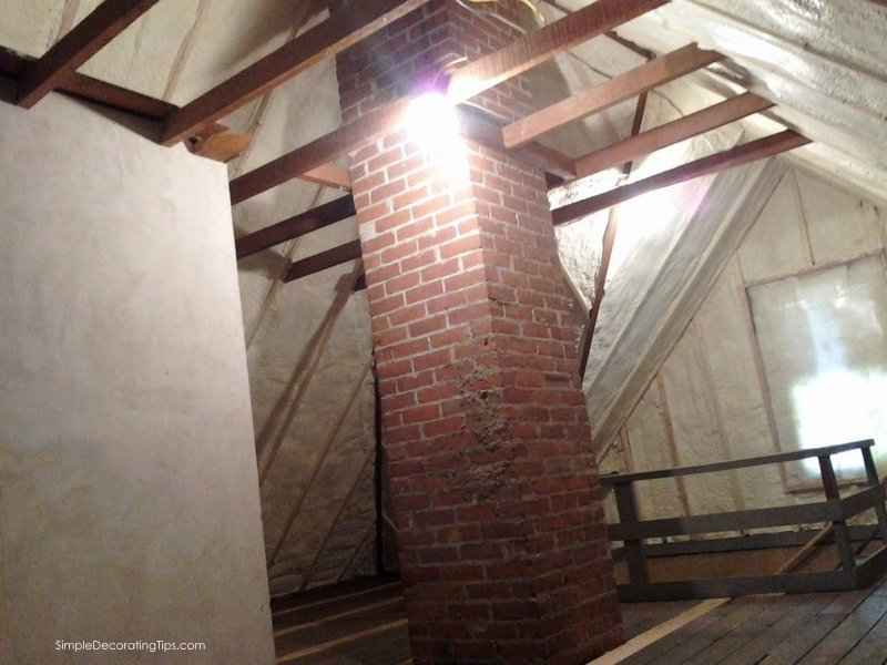 Our 100 Year Old House Attic Renovation - SIMPLE DECORATING TIPS