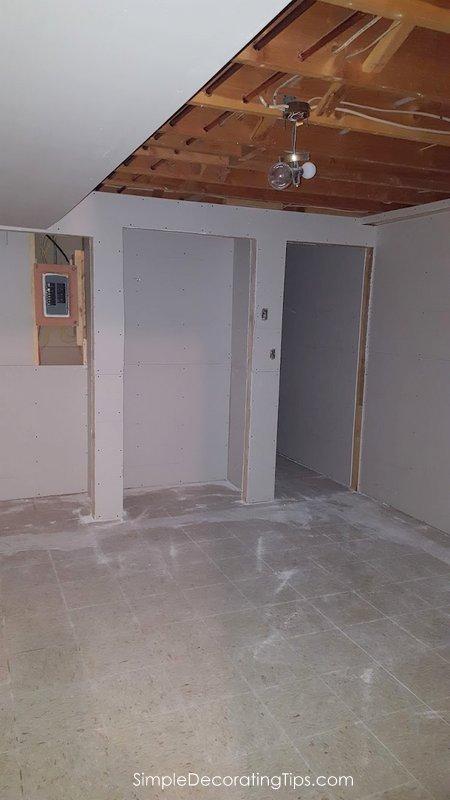 SimpleDecoratingTips.com Basement Apartment Progress