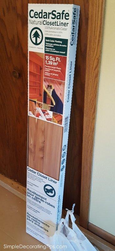 SimpleDecoratingTips.com Cedar Closet Lining