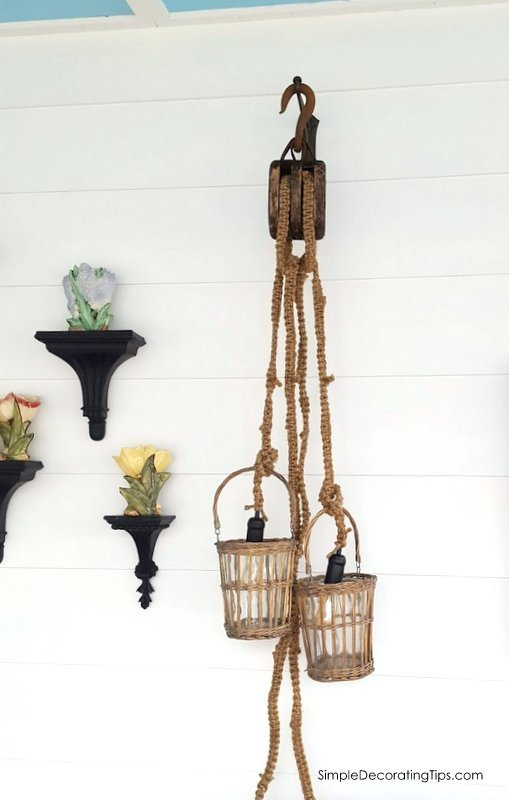 diy macrame light simpledecoratingtips.com