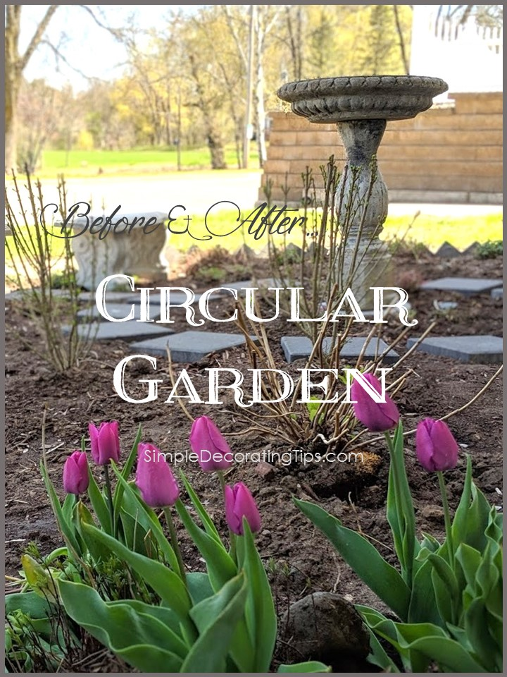 Before & After: Circular Garden