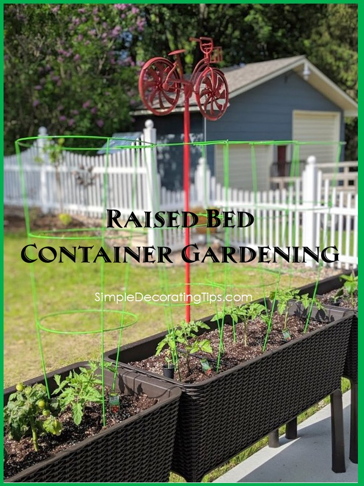 Raised Bed Container Gardening - cover