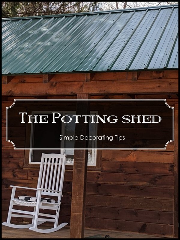 The Potting Shed - SIMPLE DECORATING TIPS