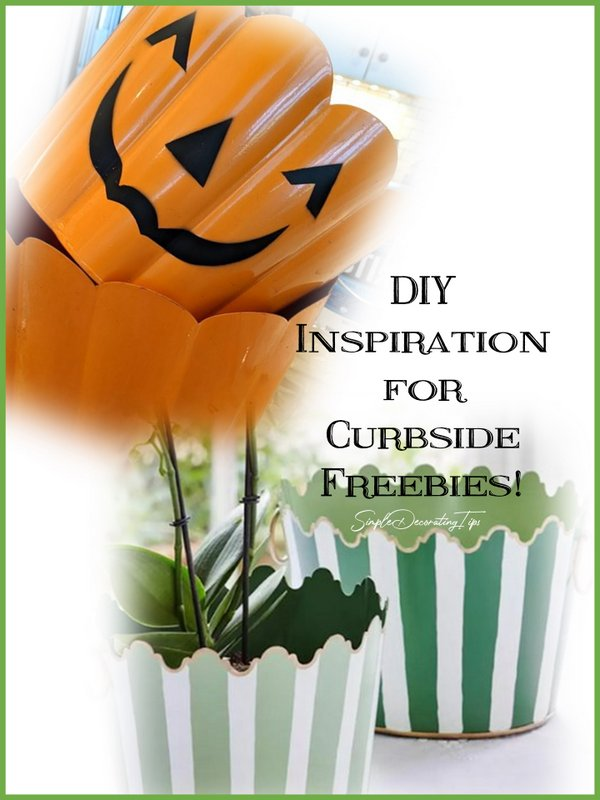 DIY Inspiration for Curbside Freebies - SIMPLE DECORATING TIPS