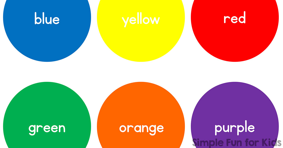 Basic Color Circles  Simple Fun for Kids VIP