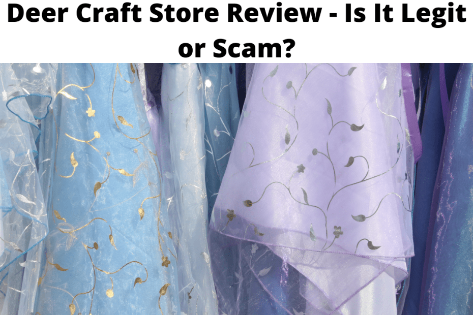 Deer Craft Store Review - Is It Legit or Scam?