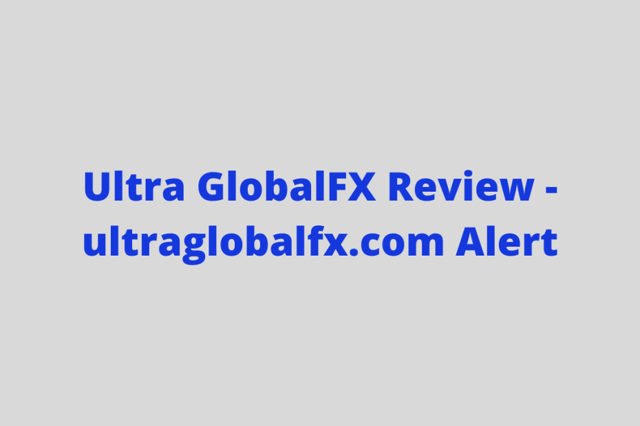 Ultra GlobalFX Review