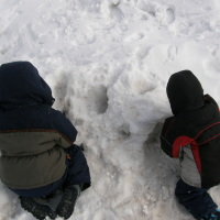 Little boys need to get outside to play!