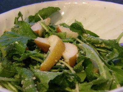 Arugula Pear Salad 2