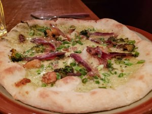 Duck Duck Breast Pizza at Café Parvis