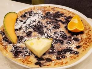 Blueberry Crepe at Universel Déjeuners et Grillades