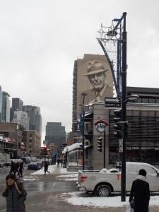 Leonard Cohen Mural
