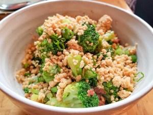 Broccoli at Cheu Noodle Bar