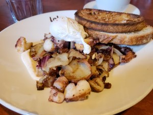 Tom's Favorite Breakfast at Lola