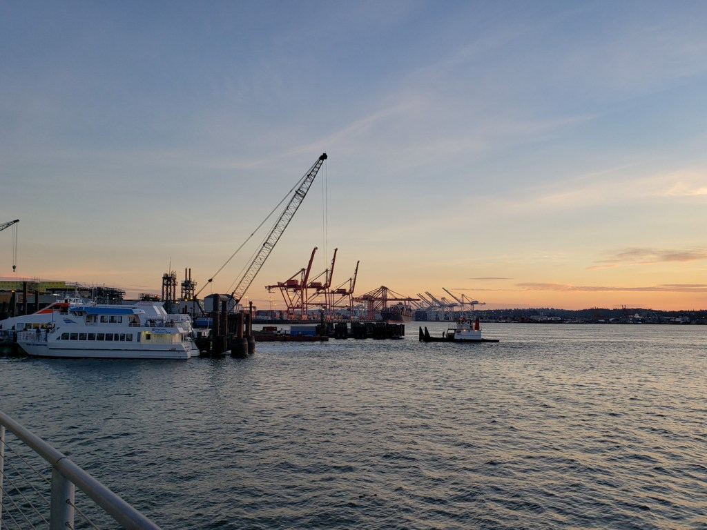 Sunset in Seattle