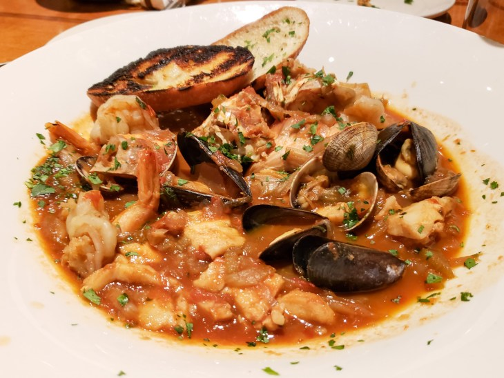 Cioppino at Ivar's Acres of Clams