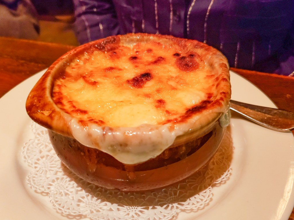 Onion Soup Gratinée at Parc