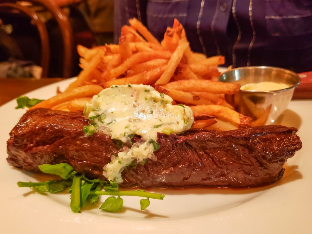 Steak Frites at Parc