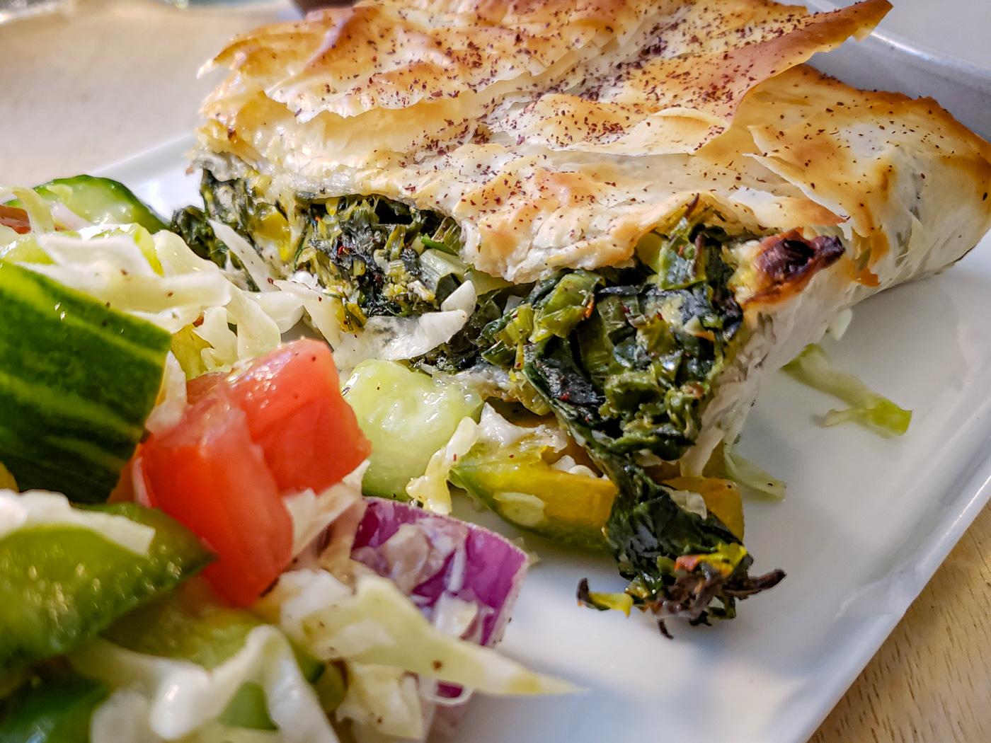 Spanakopita from Kanella Grill