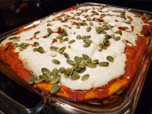 Nirvana Enchilada Casserole