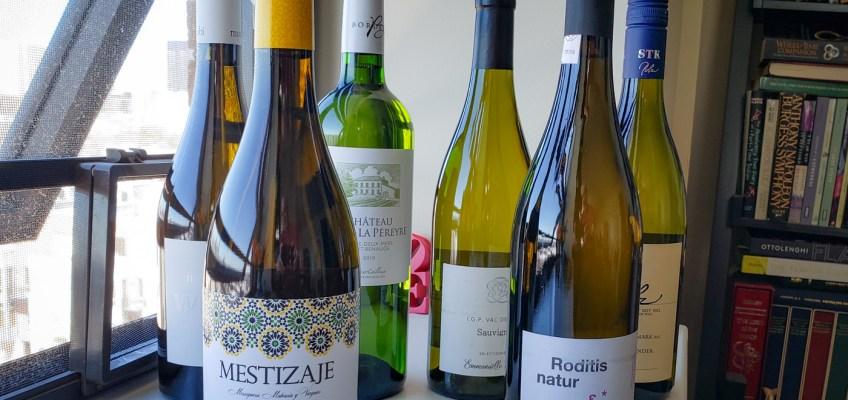 March 2021 Plonk White Wine Club