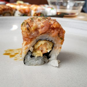 Red Shrimp Roll from Tomo Sushi and Ramen