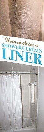How To Clean Your Shower Curtain Liner Simple Green