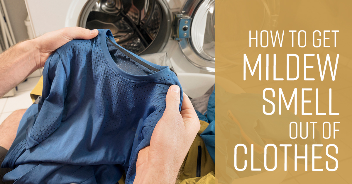 How to Get Mildew Smell Out of Clothes  Simple Green