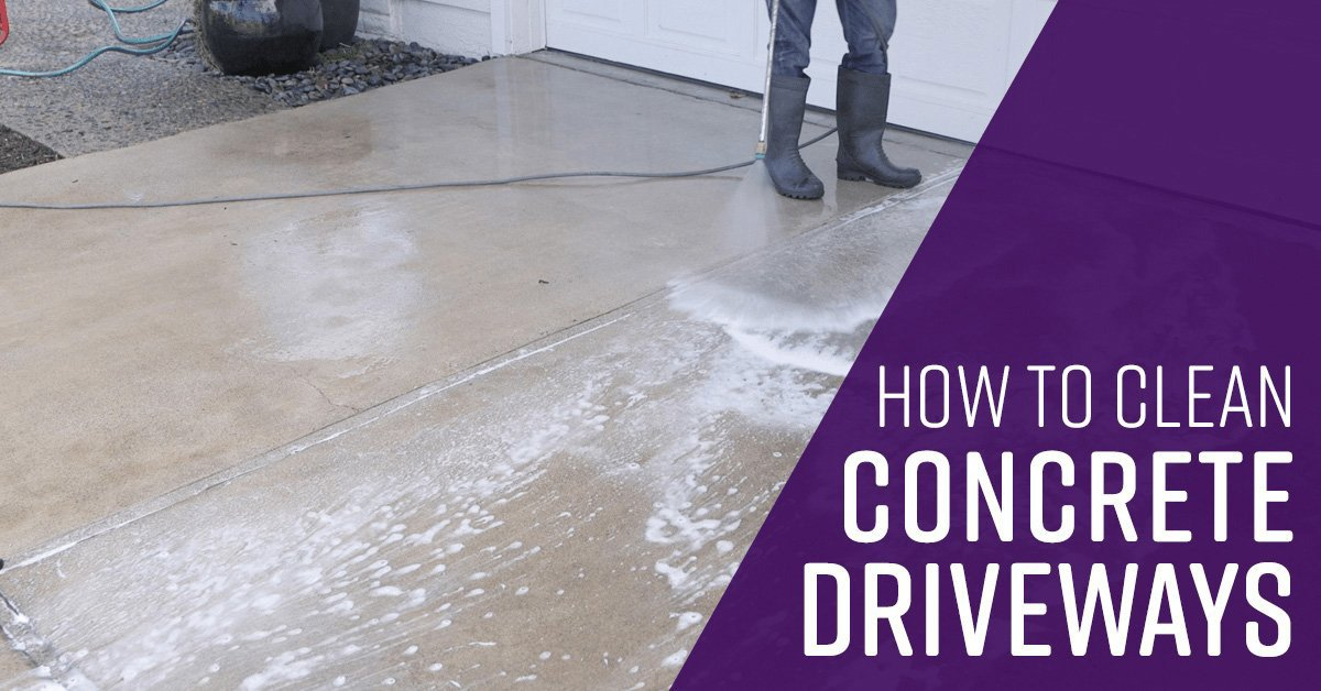 How to Clean Concrete Driveways  Simple Green