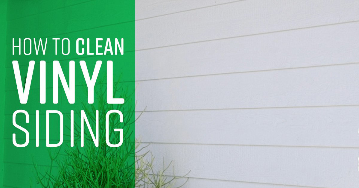 How to Clean Vinyl Siding  Simple Green