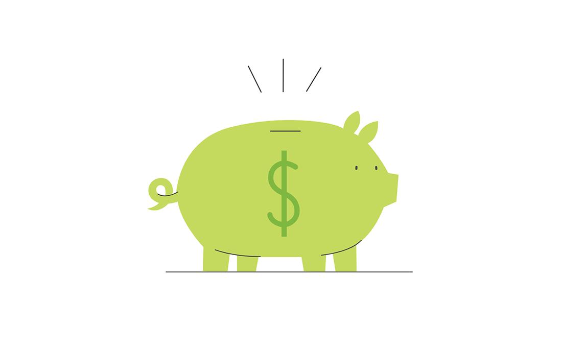 green-piggy-bank