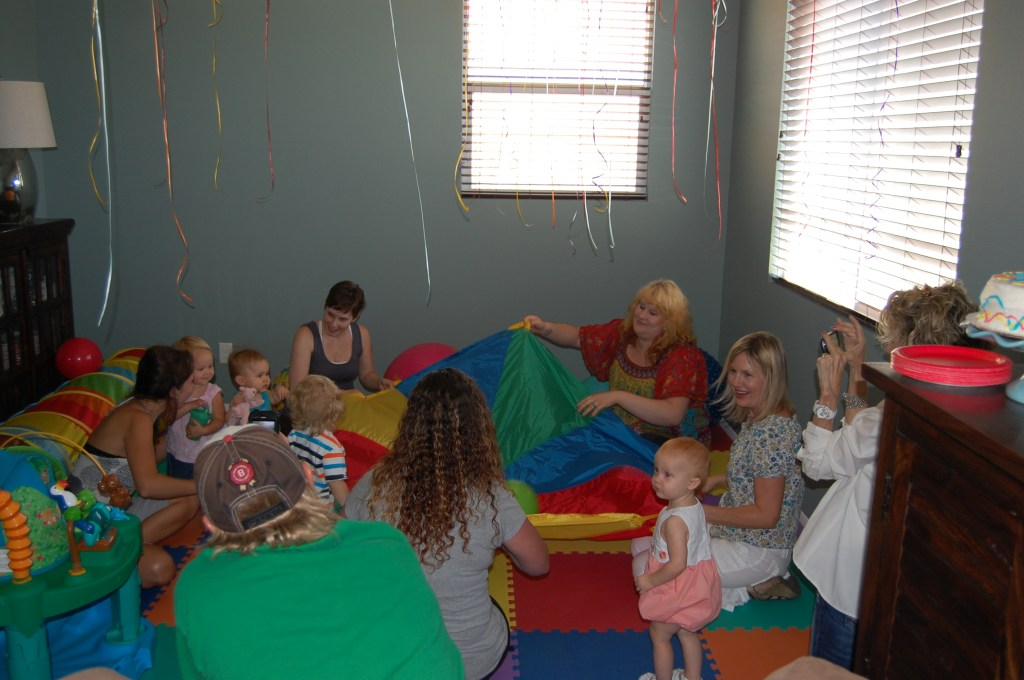 First Birthday Party - Having a Ball