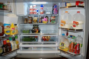 fridge after