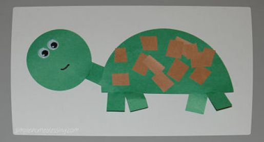 Toddler Craft Turtle