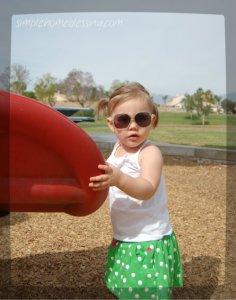 Grace at park