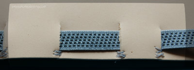 Birthday Headband Craft - stitch