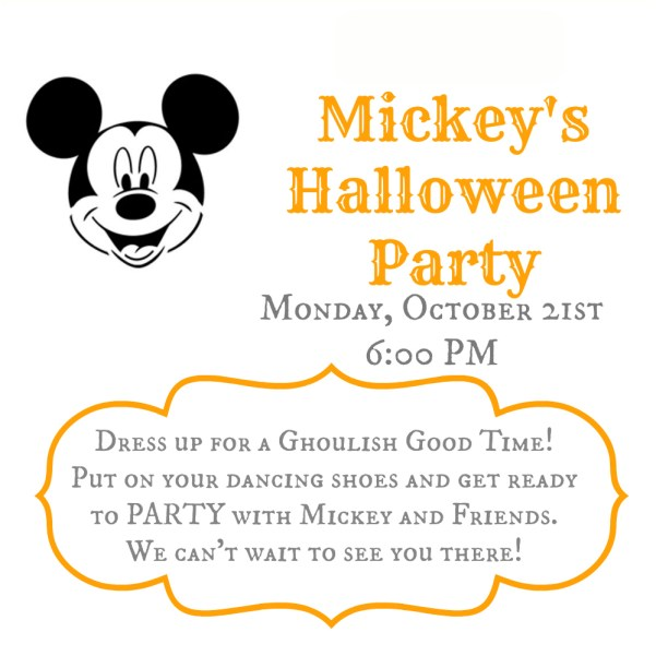 Mickey's Halloween Invite 2