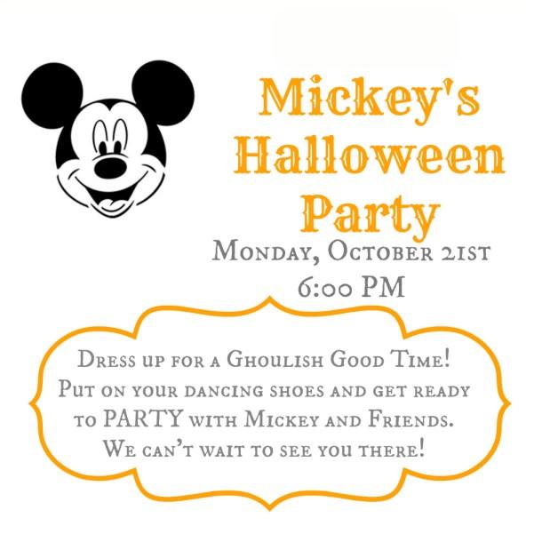 Mickey's Halloween Invite 2