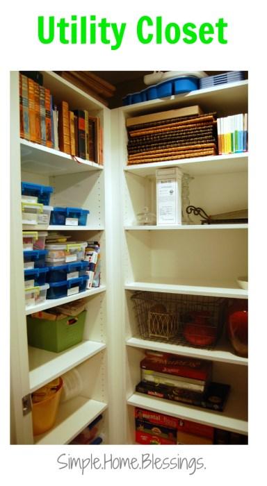 Utility Closet - task