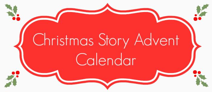 Christmas Story Advent Calendar - for toddlerspreschoolers