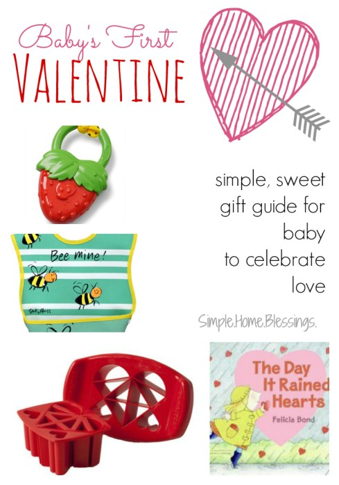 Baby's First Valentine gift guide
