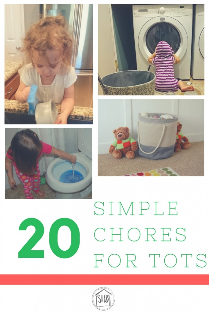 20+ Simple Chores for Tots