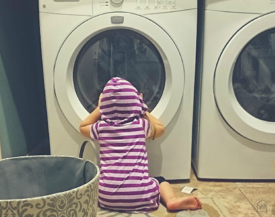 20 chores for tots - simple tasks for little hands to help around the house.