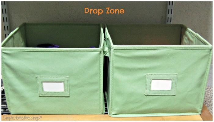 Controlling Car Clutter a drop zone